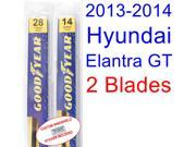 2013-2014 Hyundai Elantra GT Replacement Wiper Blade Set/Kit (Set of 2 Blades)