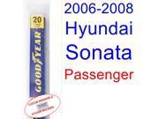 2006-2008 Hyundai Sonata Wiper Blade (Passenger) (2007)