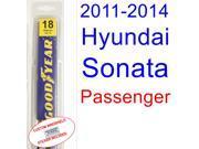 2011-2014 Hyundai Sonata Wiper Blade (Passenger) (2012,2013)