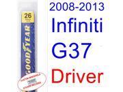 2008-2013 Infiniti G37(Coupe) Wiper Blade (Driver) (2009,2010,2011,2012)