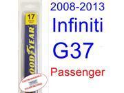 2008-2013 Infiniti G37(Coupe) Wiper Blade (Passenger) (2009,2010,2011,2012)