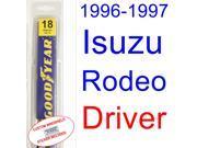 1996-1997 Isuzu Rodeo Wiper Blade (Driver)