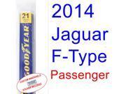 2014 Jaguar F-Type Wiper Blade (Passenger)
