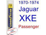 1970-1974 Jaguar XKE Wiper Blade (Passenger) (1971,1972,1973)