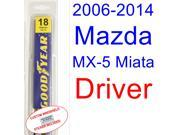 2006-2014 Mazda MX-5 Miata Wiper Blade (Driver) (2007,2008,2009,2010,2011,2012,2013) 9SIA89T3111187