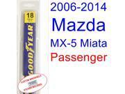 2006-2014 Mazda MX-5 Miata Wiper Blade (Passenger) (2007,2008,2009,2010,2011,2012,2013) 9SIA89T3111146