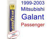 1999-2003 Mitsubishi Galant Wiper Blade (Passenger) (2000,2001,2002)