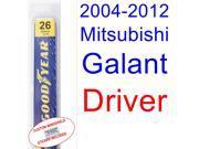 2004-2012 Mitsubishi Galant Wiper Blade (Driver) (2005,2006,2007,2008,2009,2010,2011) 9SIA89T3111045