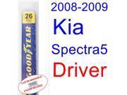 2008-2009 Kia Spectra5 Wiper Blade (Driver)