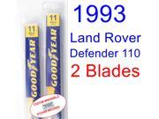 1993 Land Rover Defender 110 Replacement Wiper Blade Set/Kit (Set of 2 Blades)