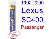 1992-2000 Lexus SC400 Wiper Blade (Passenger) (1993,1994,1995,1996,1997,1998,1999) 9SIA89T30Z3754