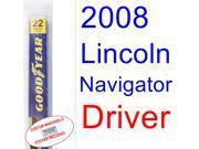2008 Lincoln Navigator Wiper Blade (Driver)