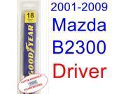 2001-2009 Mazda B2300 Wiper Blade (Driver) (2002,2003,2004,2005,2006,2007,2008) 9SIA89T3110928
