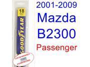2001-2009 Mazda B2300 Wiper Blade (Passenger) (2002,2003,2004,2005,2006,2007,2008) 9SIA89T3110944