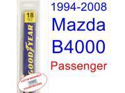 1994-2008 Mazda B4000 Wiper Blade (Passenger) (1995,1996,1997,1998,1999,2000,2001,2002,2003,2004,2005,2006,2007) 9SIA89T3110738
