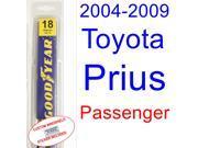 2004-2009 Toyota Prius Wiper Blade (Passenger) (2005,2006,2007,2008)