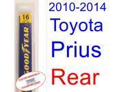 2010-2014 Toyota Prius Wiper Blade (Rear) (2011,2012,2013)