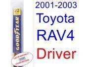 2001-2003 Toyota RAV4 Wiper Blade (Driver) (2002)