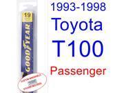 1993-1998 Toyota T100 Wiper Blade (Passenger) (1994,1995,1996,1997)