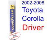 2002-2008 Toyota Corolla(S) Wiper Blade (Driver) (2003,2004,2005,2006,2007)