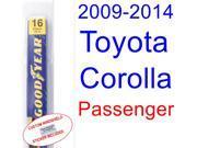 2009-2014 Toyota Corolla(S) Wiper Blade (Passenger) (2010,2011,2012,2013)