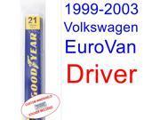 1999-2003 Volkswagen EuroVan Wiper Blade (Driver) (2000,2001,2002)
