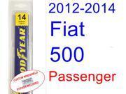2012-2014 Fiat 500 Wiper Blade (Passenger) (2013)