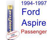 1994-1997 Ford Aspire Wiper Blade (Passenger) (1995,1996)