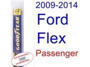 2009-2014 Ford Flex Wiper Blade (Passenger) (2010,2011,2012,2013)