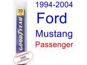 1994-2004 Ford Mustang Wiper Blade (Passenger) (1995,1996,1997,1998,1999,2000,2001,2002,2003) 9SIA89T30Z3278