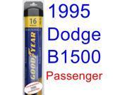 1995 Dodge B1500 Wiper Blade (Passenger) (Goodyear Wiper Blades-Assurance)