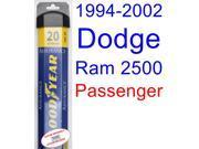 1994-2002 Dodge Ram 2500 Wiper Blade (Passenger) (Goodyear Wiper Blades-Assurance) (1995,1996,1997,1998,1999,2000,2001)