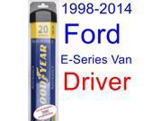 1998-2014 Ford E-Series Van Wiper Blade (Driver) (Goodyear Wiper Blades-Assurance) (1999,2000,2001,2002,2003,2004,2005,2006,2007,2008,2009,2010,2011,2012,2013) 9SIA89T36Y0243