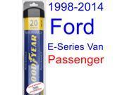 1998-2014 Ford E-Series Van Wiper Blade (Passenger) (Goodyear Wiper Blades-Assurance) (1999,2000,2001,2002,2003,2004,2005,2006,2007,2008,2009,2010,2011,2012,201 9SIA89T36Y3932