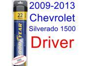 2009-2013 Chevrolet Silverado 1500 Hybrid Wiper Blade (Driver) (Goodyear Wiper Blades-Assurance) (2010,2011,2012)