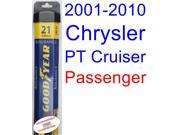 2001-2010 Chrysler PT Cruiser Wiper Blade (Passenger) (Goodyear Wiper Blades-Assurance) (2002,2003,2004,2005,2006,2007,2008,2009)