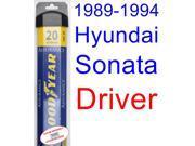 1989-1994 Hyundai Sonata Wiper Blade (Driver) (Goodyear Wiper Blades-Assurance) (1990,1991,1992,1993)