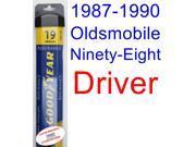 1987-1990 Oldsmobile Ninety-Eight Wiper Blade (Driver) (Goodyear Wiper Blades-Assurance) (1988,1989)
