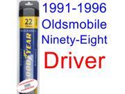 1991-1996 Oldsmobile Ninety-Eight Wiper Blade (Driver) (Goodyear Wiper Blades-Assurance) (1992,1993,1994,1995)