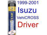 1999-2001 Isuzu VehiCROSS Wiper Blade (Driver) (Goodyear Wiper Blades-Assurance) (2000)