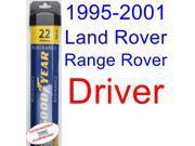 1995-2001 Land Rover Range Rover Wiper Blade (Driver) (Goodyear Wiper Blades-Assurance) (1996,1997,1998,1999,2000)