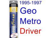 1995-1997 Geo Metro Wiper Blade (Driver) (Goodyear Wiper Blades-Assurance) (1996)