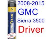 2008-2015 GMC Sierra 3500 Wiper Blade (Driver) (Goodyear Wiper Blades-Assurance) (2009,2010,2011,2012,2013,2014)