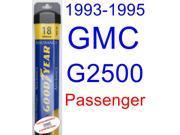 1993-1995 GMC G2500 Wiper Blade (Passenger) (Goodyear Wiper Blades-Assurance) (1994)