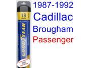 1987-1992 Cadillac Brougham Wiper Blade (Passenger) (Goodyear Wiper Blades-Assurance) (1988,1989,1990,1991)