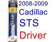 2008-2009 Cadillac STS V Wiper Blade (Driver) (Goodyear Wiper Blades-Assurance)
