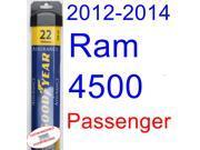 2012-2014 Ram 4500 Wiper Blade (Passenger) (Goodyear Wiper Blades-Assurance) (2013)
