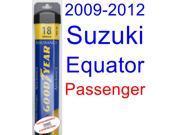 2009-2012 Suzuki Equator Wiper Blade (Passenger) (Goodyear Wiper Blades-Assurance) (2010,2011)