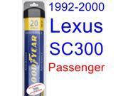1992-2000 Lexus SC300 Wiper Blade (Passenger) (Goodyear Wiper Blades-Assurance) (1993,1994,1995,1996,1997,1998,1999)