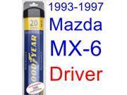 1993-1997 Mazda MX-6 Wiper Blade (Driver) (Goodyear Wiper Blades-Assurance) (1994,1995,1996)